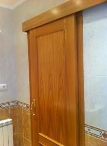 puerta corredera superpuesta