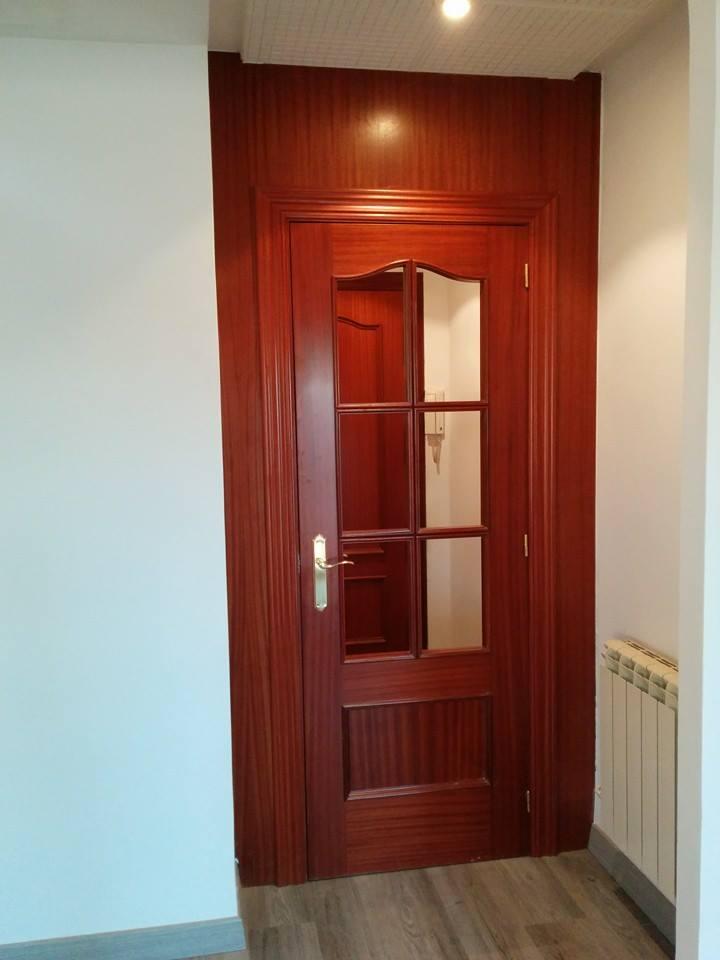 puerta de paso nueva