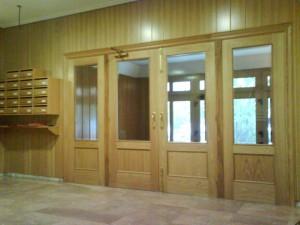 reforma portal en Logroño